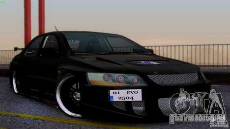 Mitsubishi Lancer Evolution 8 Drift для GTA San Andreas