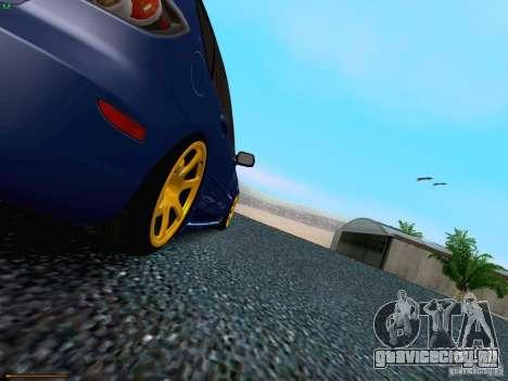 Mazda Speed 3 для GTA San Andreas вид сверху
