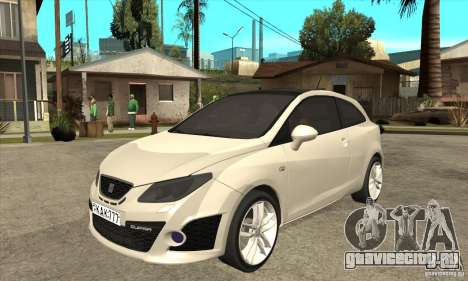 Seat Ibiza Cupra 2009 для GTA San Andreas