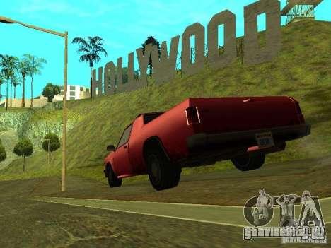 Picador для GTA San Andreas вид сзади слева