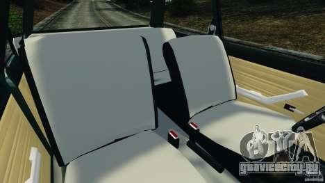 Chevrolet Chevette 1976 для GTA 4 вид изнутри
