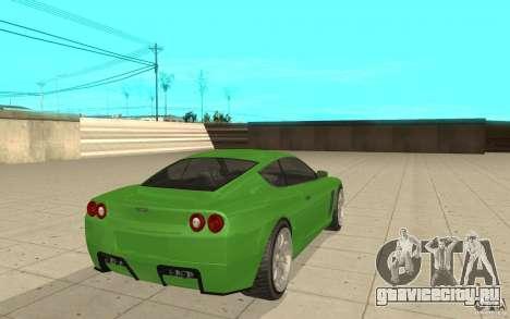 Super GT из GTA 4 для GTA San Andreas вид сзади слева