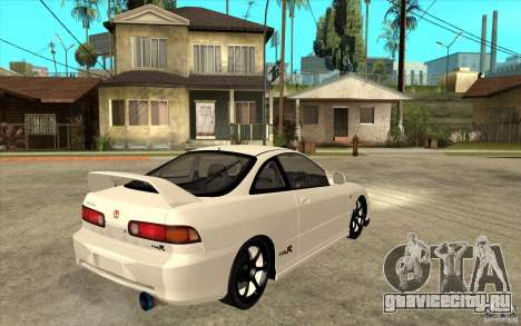 Honda Integra Spoon Version для GTA San Andreas вид справа