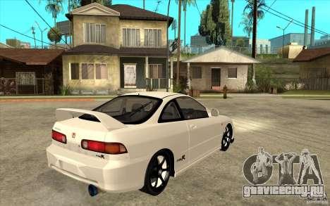 Honda Integra Spoon Version для GTA San Andreas вид справа