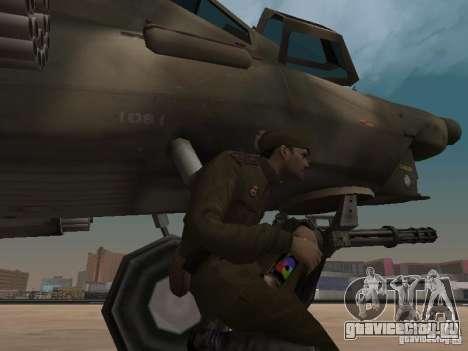 МИ-28 для GTA San Andreas вид снизу