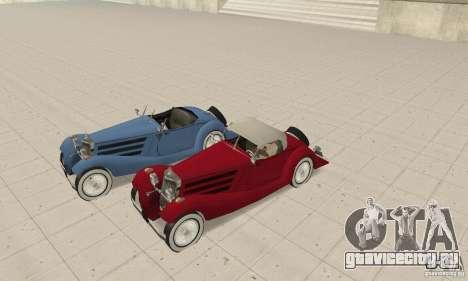 Mercedes-Benz 500K для GTA San Andreas вид сбоку