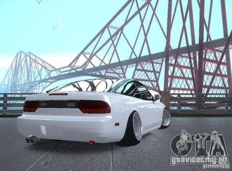 Nissan 240SX для GTA San Andreas вид справа