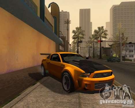 Ford Mustang GT-R 2010 для GTA San Andreas