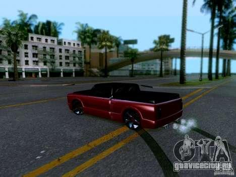 Slamvan Tuned для GTA San Andreas вид сзади слева