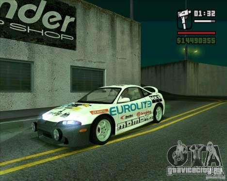 Mitsubishi Eclipse GST для GTA San Andreas