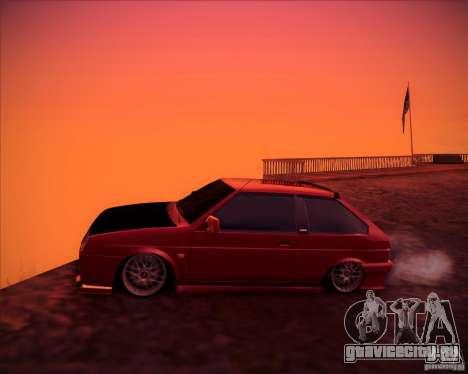 ВАЗ 2108 тюнинг для GTA San Andreas вид слева
