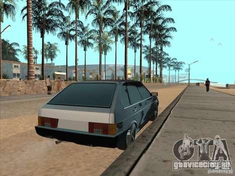 ВАЗ 21093i Light Tuning для GTA San Andreas вид сзади слева
