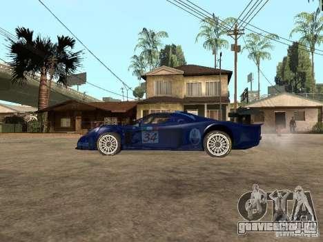 Maserati MC 12 GTrace для GTA San Andreas вид слева
