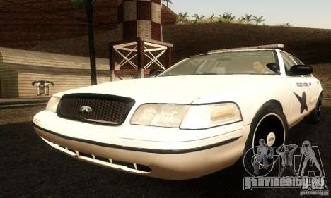 Ford Crown Victoria Washington Police для GTA San Andreas