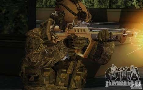 Tavor Tar-21 Desert для GTA San Andreas второй скриншот