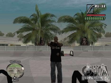 Майка 50 cent для GTA San Andreas третий скриншот