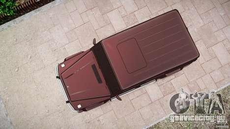 Mercedes Benz G55 AMG Final для GTA 4 вид сбоку