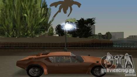 De Tomaso Pantera для GTA Vice City вид сзади