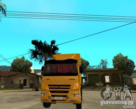 КамАЗ 5460M TAI version 1.5 для GTA San Andreas вид сзади