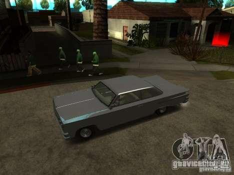 Voodoo из GTA IV для GTA San Andreas вид справа