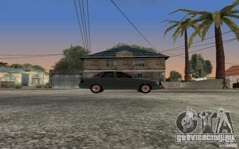 Лада Приора light tuning для GTA San Andreas вид сзади слева