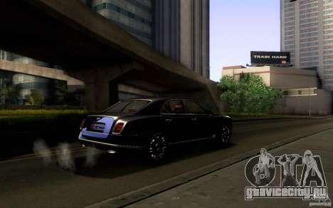 Bentley Mulsanne 2010 v1.0 для GTA San Andreas колёса