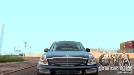 SsangYong Rexton 2005 для GTA San Andreas салон