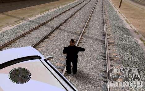 Русские Рельсы для GTA San Andreas второй скриншот