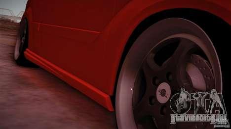 Ford Focus SVT Clean для GTA San Andreas вид справа