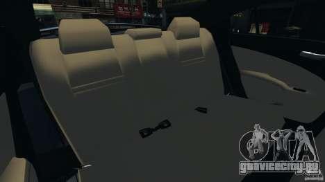 Dodge Charger SRT8 2012 v2.0 для GTA 4 вид сбоку