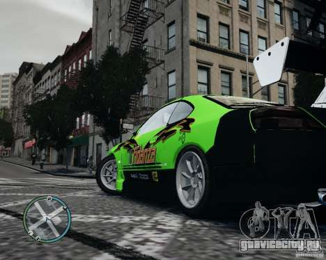 Nissan Silvia для GTA 4 вид справа