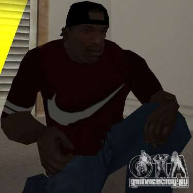 Nike футболка для GTA San Andreas
