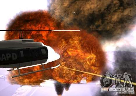 Новые эфекты взрывов для GTA San Andreas шестой скриншот