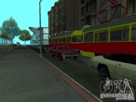 Татра Т3SU для GTA San Andreas вид справа
