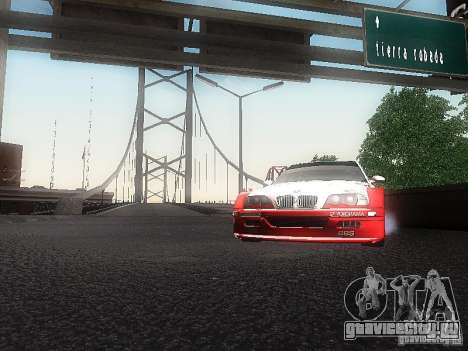 BMW M3 GTR1 для GTA San Andreas вид справа