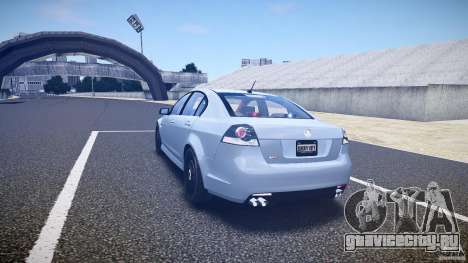 Holden Commodore (FBINOoSE) для GTA 4 вид сзади слева