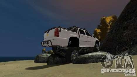 Chevrolet Avalanche 4x4 Truck для GTA 4 вид справа