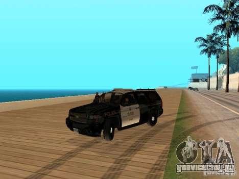 Chevrolet Tahoe Ontario Highway Police для GTA San Andreas