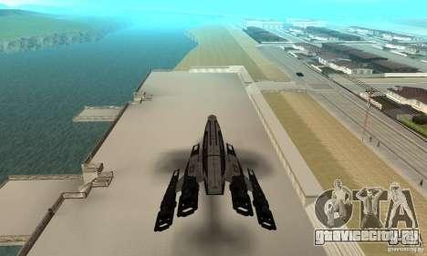 S.S.V. NORMANDY-SR 2 для GTA San Andreas вид сзади