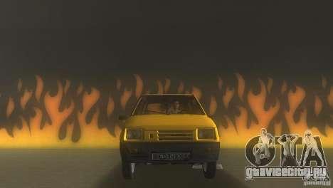 ВАЗ 1111 Ока Седан для GTA Vice City вид сзади слева