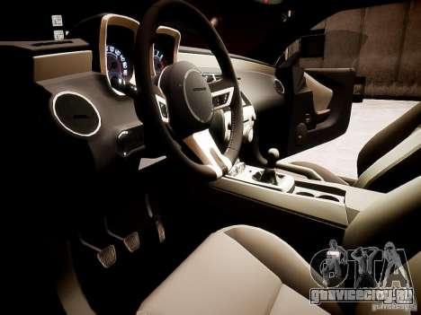 Chevrolet Camaro SS 2010 для GTA 4 вид справа