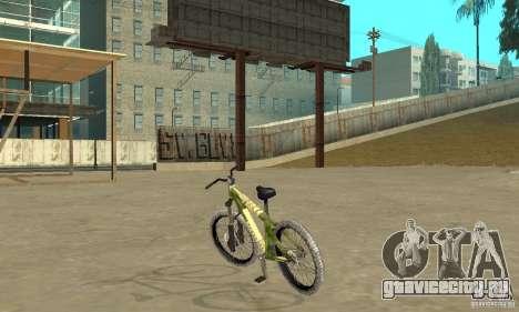 Hardy 3 Dirt Bike для GTA San Andreas вид сзади слева