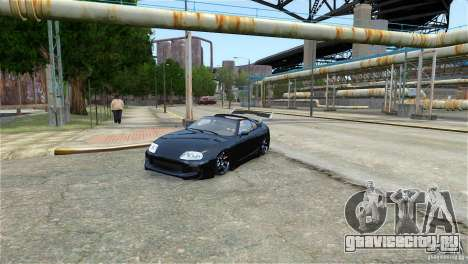 Toyota Supra RZ 1998 v 2.0 для GTA 4 вид слева