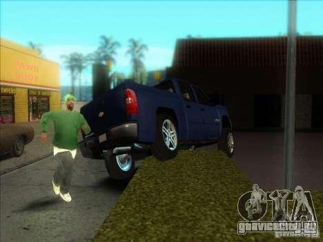 Chevrolet Silverado 1500 для GTA San Andreas вид справа