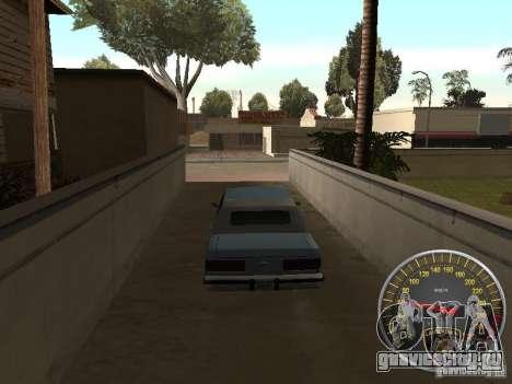 Спидометр Lamborghini для GTA San Andreas второй скриншот