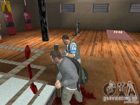 Система драк из GTA IV для GTA San Andreas третий скриншот