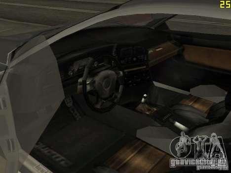 Cheetah из ГТА 4 для GTA San Andreas вид сзади