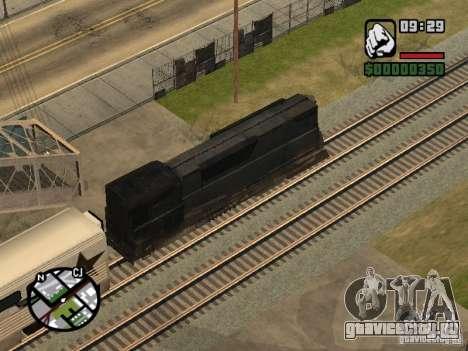 Поезд combine из игры Half-Life 2 для GTA San Andreas вид сбоку