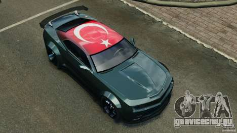 Chevrolet Camaro SS EmreAKIN Edition для GTA 4 салон