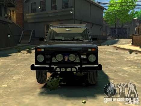 Ваз 2131 Нива для GTA 4 вид сзади слева